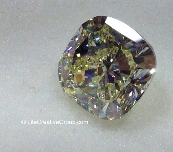 3 CT Cushion Diamond